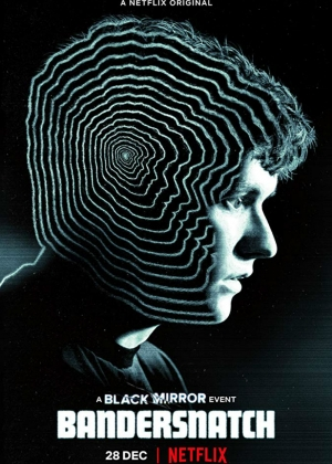 Cartaz oficial do filme Black Mirror: Bandersnatch