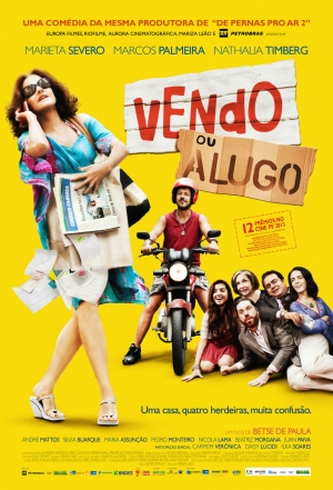 Cartaz oficial do filme Vendo ou Alugo