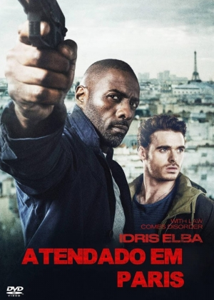 Cartaz oficial do filme Atentado em Paris