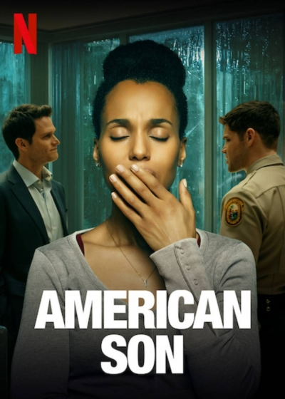 Cartaz oficial do filme American Son