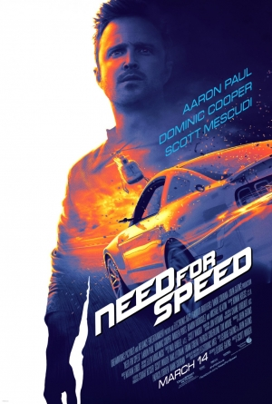 Cartaz oficial do filme Need for Speed