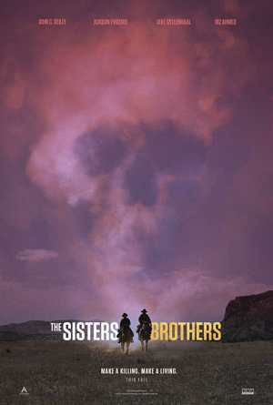 Cartaz oficial do filme The Sisters Brothers