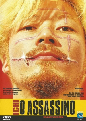 Cartaz oficial do filme Ichi - O Assassino