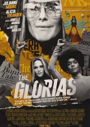 Cartaz oficial do filme The Glorias