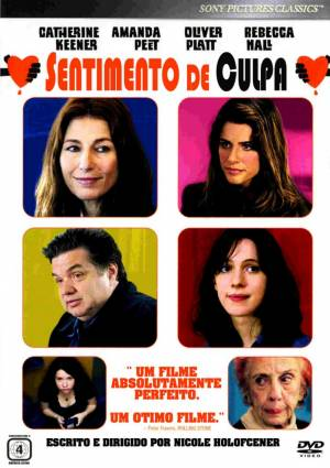 Cartaz oficial do filme Sentimento de Culpa