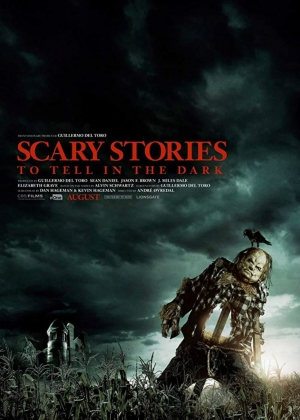 Cartaz oficial do filme Scary Stories to Tell in the Dark