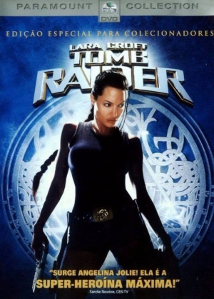 Cartaz oficial do filme Lara Croft: Tomb Raider (2001)