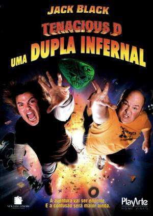 Cartaz oficial do filme Tenacious D: Uma Dupla Infernal