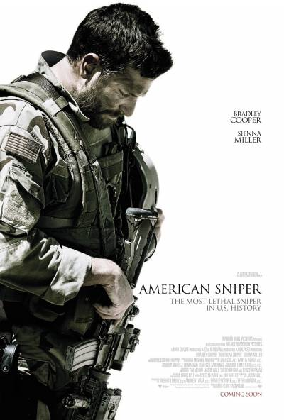 Cartaz do filme Sniper Americano