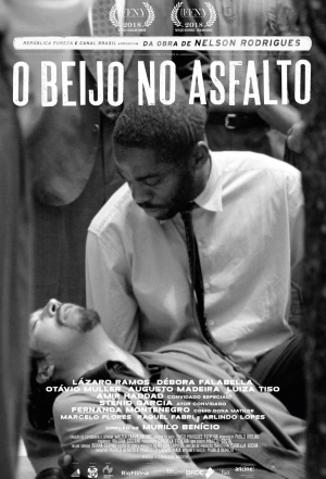 Cartaz oficial do filme O Beijo no Asfalto