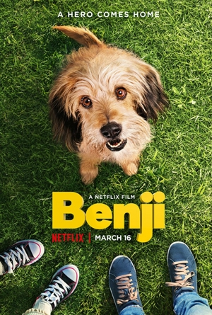 Cartaz oficial do filme Benji (2018)