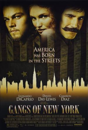 Cartaz do filme Gangues de Nova York