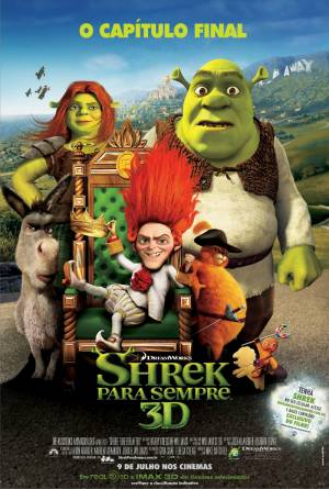 Cartaz oficial do filme Shrek Para Sempre: O Capítulo Final