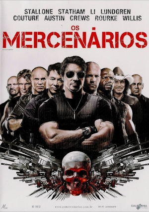 Cartaz oficial do filme Os Mercenários