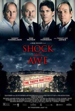 Cartaz oficial do filme Shock and Awe