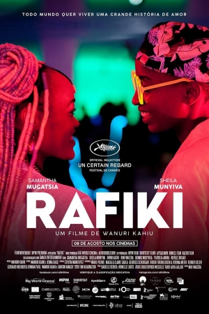Cartaz oficial do filme Rafiki