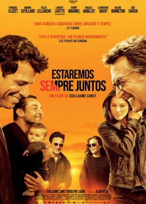 Cartaz oficial do filme Estaremos Sempre Juntos