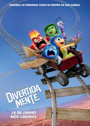 Cartaz oficial do filme Divertida Mente