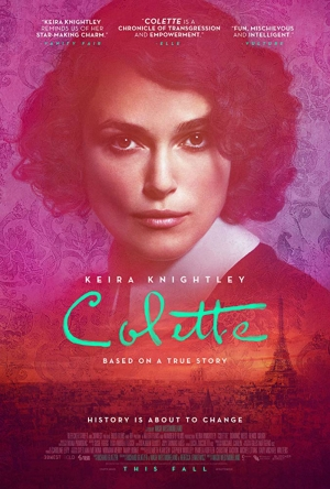 Cartaz oficial do filme Colette