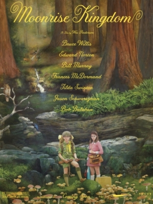 Cartaz oficia do filme Moonrise Kingdom