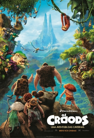 Cartaz oficial do filme OS Croods