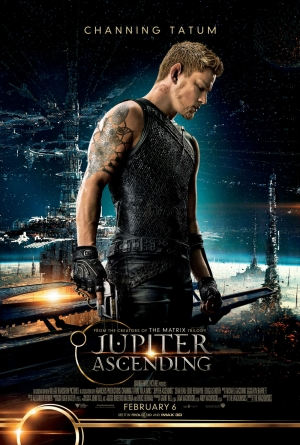 Cartaz oficial do filme O Destino de Júpiter