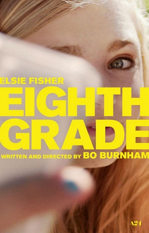 Cartaz oficial do filme Eighth Grade