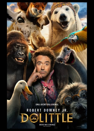 Cartaz oficial do filme Dolittle