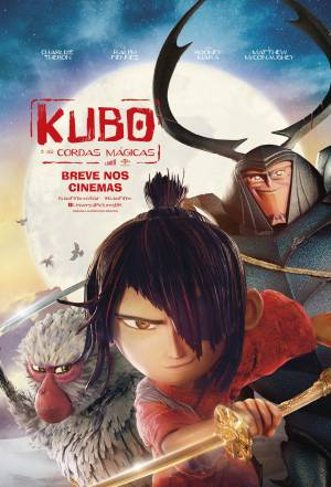 Cartaz do filme Kubo e as Cordas Mágicas