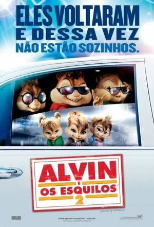 Cartaz do filme Alvin e os Esquilos 2