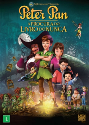 Cartaz oficial do filme Peter Pan - À Procura do Livro do Nunca