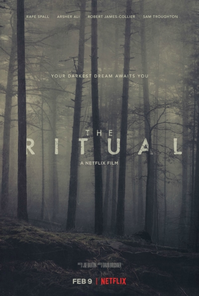 Cartaz oficial do filme O Ritual (2017)