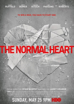 Cartaz oficial do filme The Normal Heart