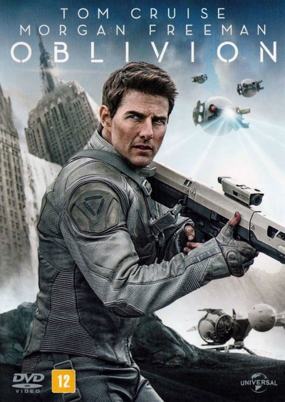 Cartaz oficial do filme Oblivion
