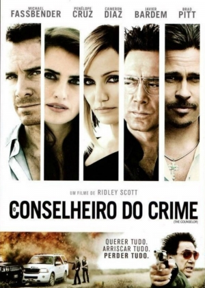 Cartaz oficial do filme O Conselheiro do Crime