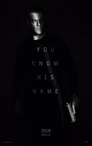 Cartaz oficial do filme Jason Bourne