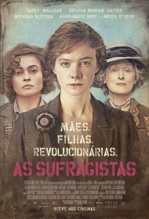 Cartaz do filme As Sufragistas