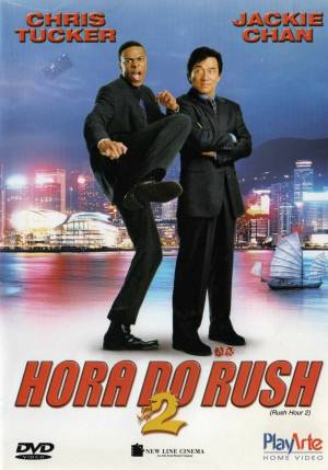 Cartaz oficial do filme A Hora do Rush 2