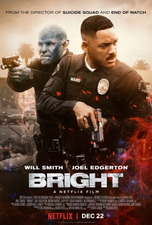 Cartaz oficial do filme Bright