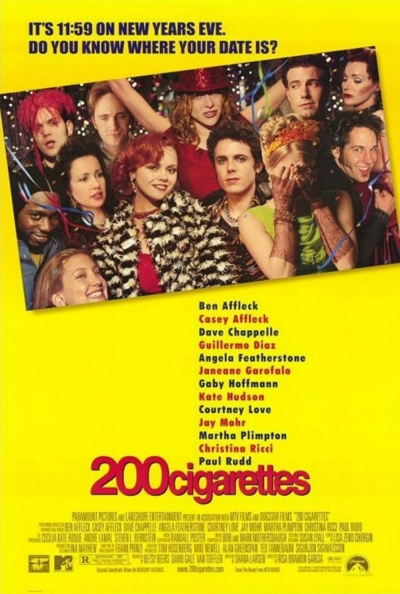 Cartaz oficial do filme 200 Cigarros