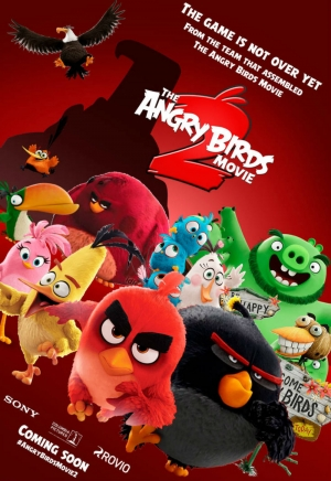 Cartaz oficial do filme Angry Birds 2