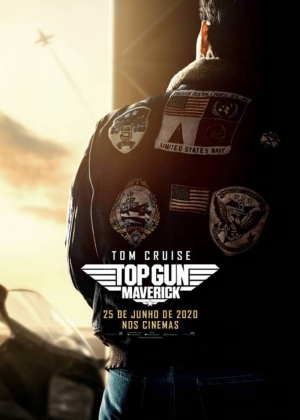 Cartaz oficial do filme Top Gun: Maverick