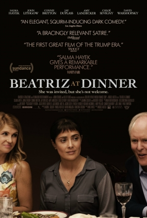 Cartaz oficial do filme Beatriz at Dinner