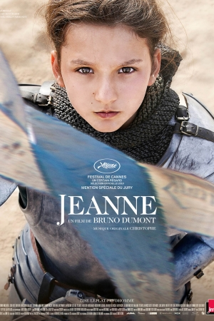 Cartaz oficial do filme Jeanne