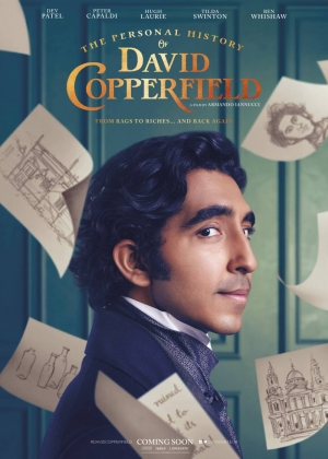 Cartaz oficial do filme The Personal History of David Copperfield
